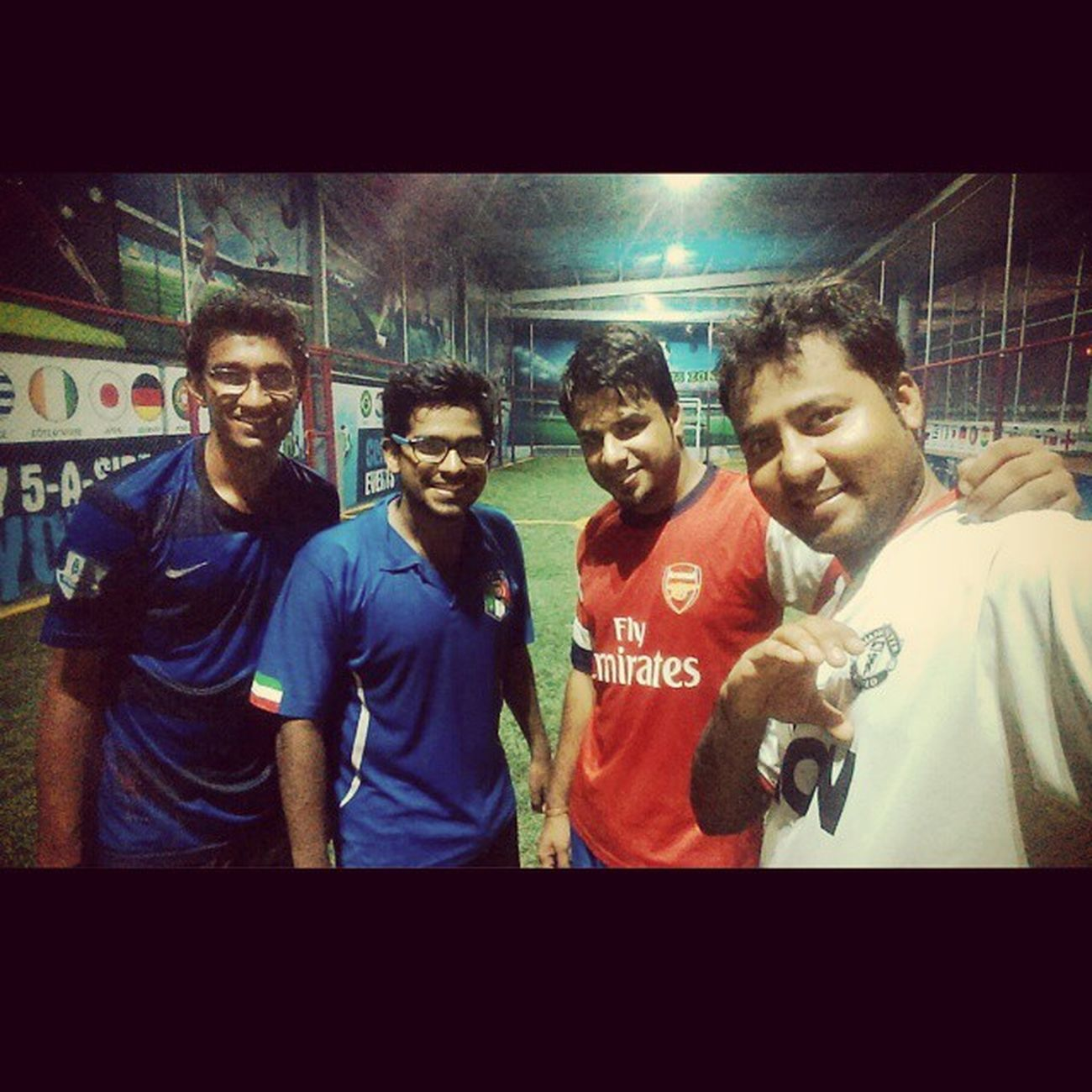 After Game Selfie. ⚽ Brothers. 😄 Well Played. 😎 AfterGameSelfie Brothers Wellplayed ;)