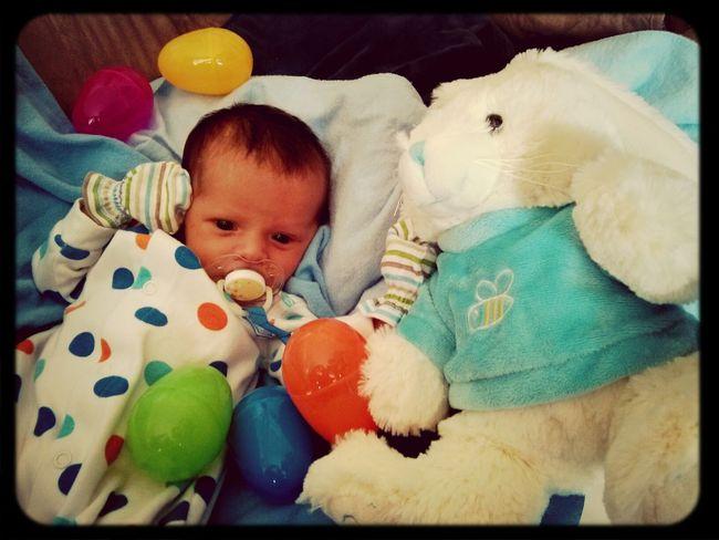 Happy Easter !  Newborn <3 my son
