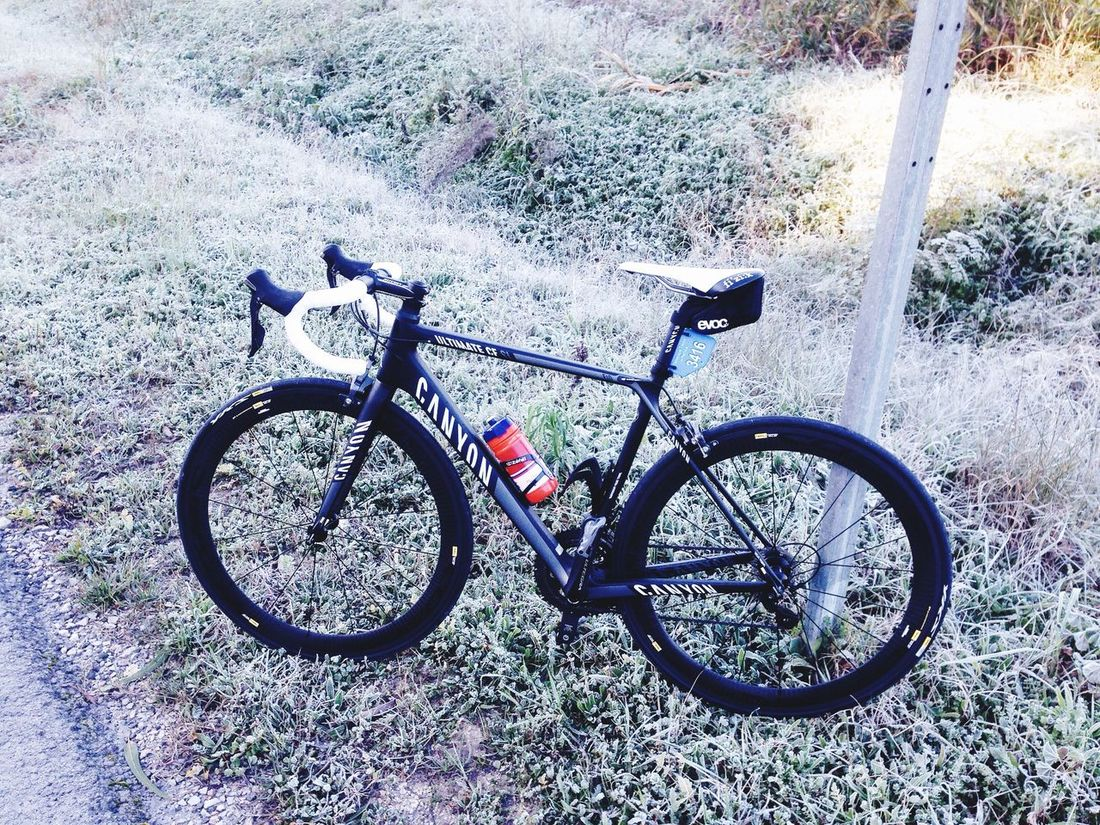 Cold ride! Freezing Cold Cycling Early Morning Portugal Azeitao