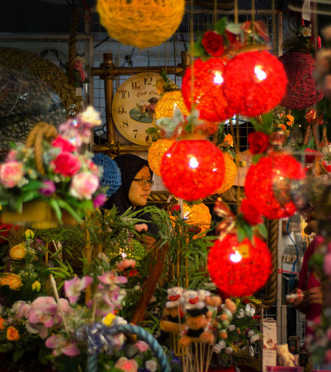 A shop keeper Art Art Is Everywhere Celebration Close-up Decoration Hanging Lantern Outdoors Red Shop Woman