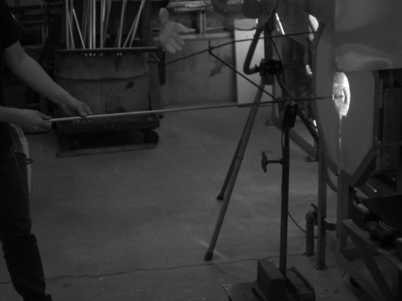 Glass Furnace Art Studio Artist Craft Furnace Glass Blowing Glass Making Labor Labour Kabe Glass Village Glass No Sato Kabe Glass Village Handmade Hand Made Artisian TCPM