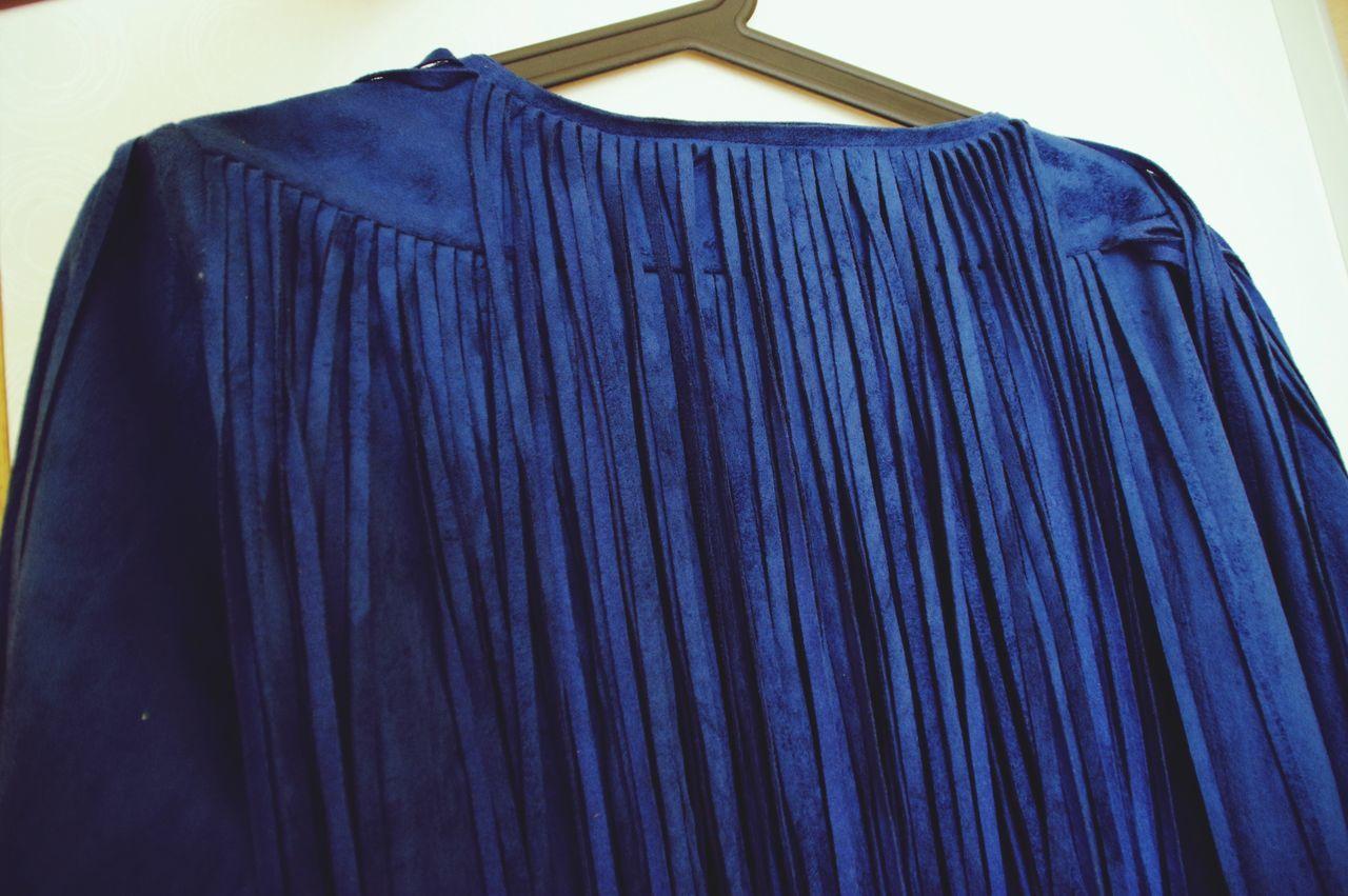 Suède Jacket Blue