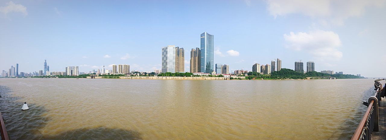 Changsha city Panorama, China Panorama View Panoramic Photography River View Cityscapes City View  Sky And City Iphone Panorama Changsha,China Changsha Town TOWNSCAPE Orange Isle Juzi Island