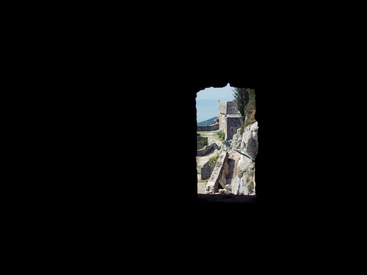 Ancient Architecture Castle Copy Space Film Location Fortification Fortress Game Of Thrones Indoors  Klis Fortress Light And Shadow Looking Out Of The Window Mountain Ruins Scenics The Way Forward Tranquility Window