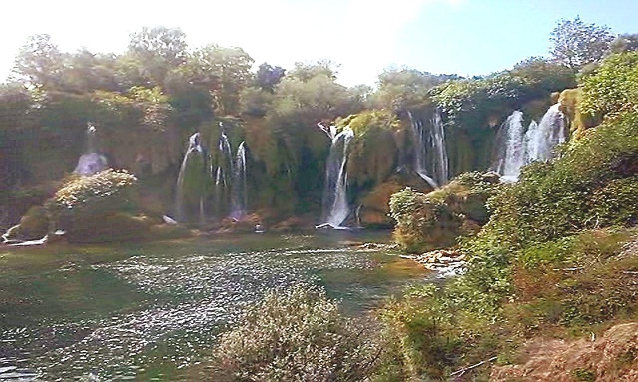 Waterfall Water Nature Landscape No People Summer Outdoors Beauty In Nature Bosnia And Herzegovina Kravica, Bosnia & Herzegovina