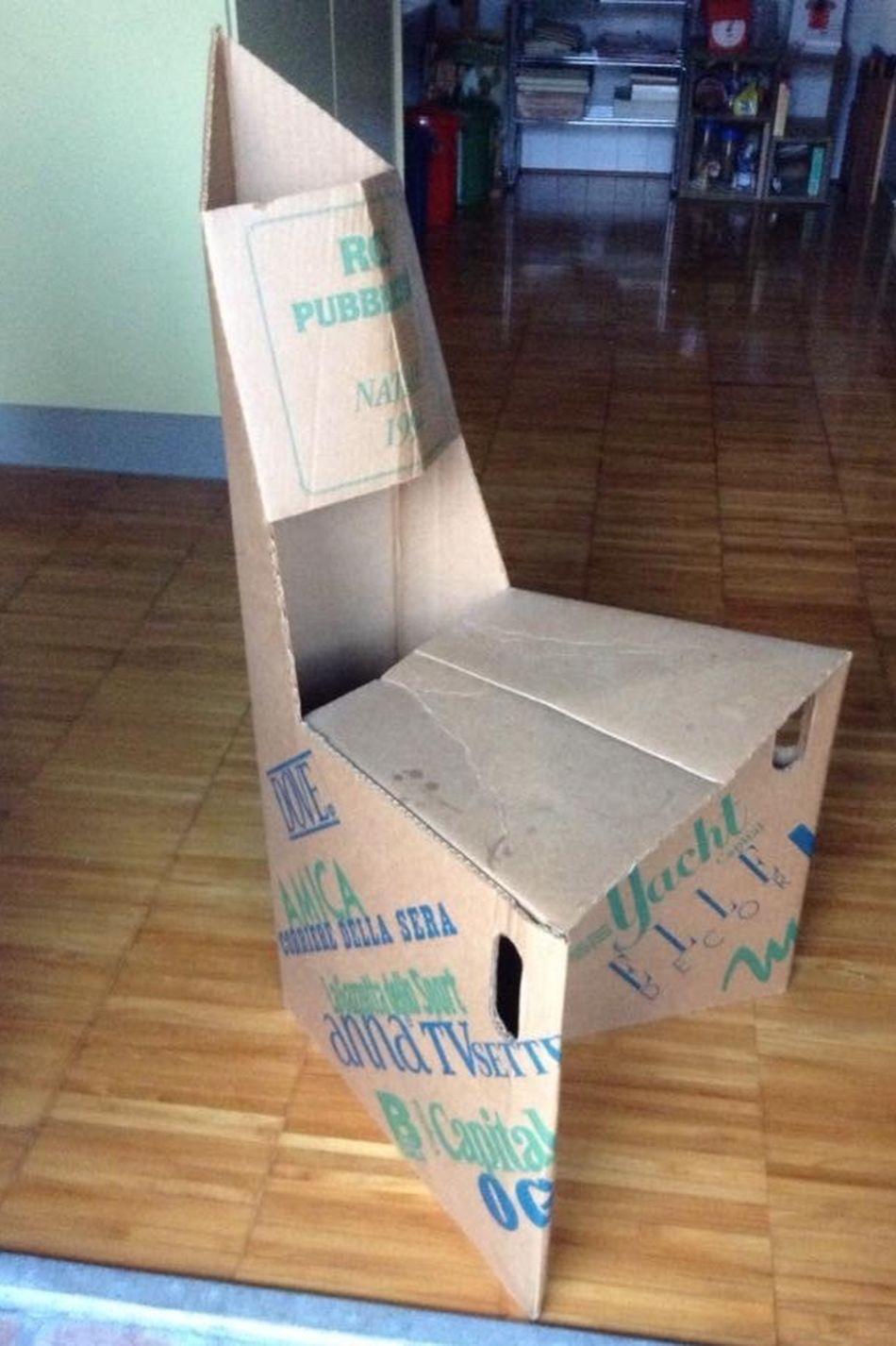 Sedia Chair Cartone