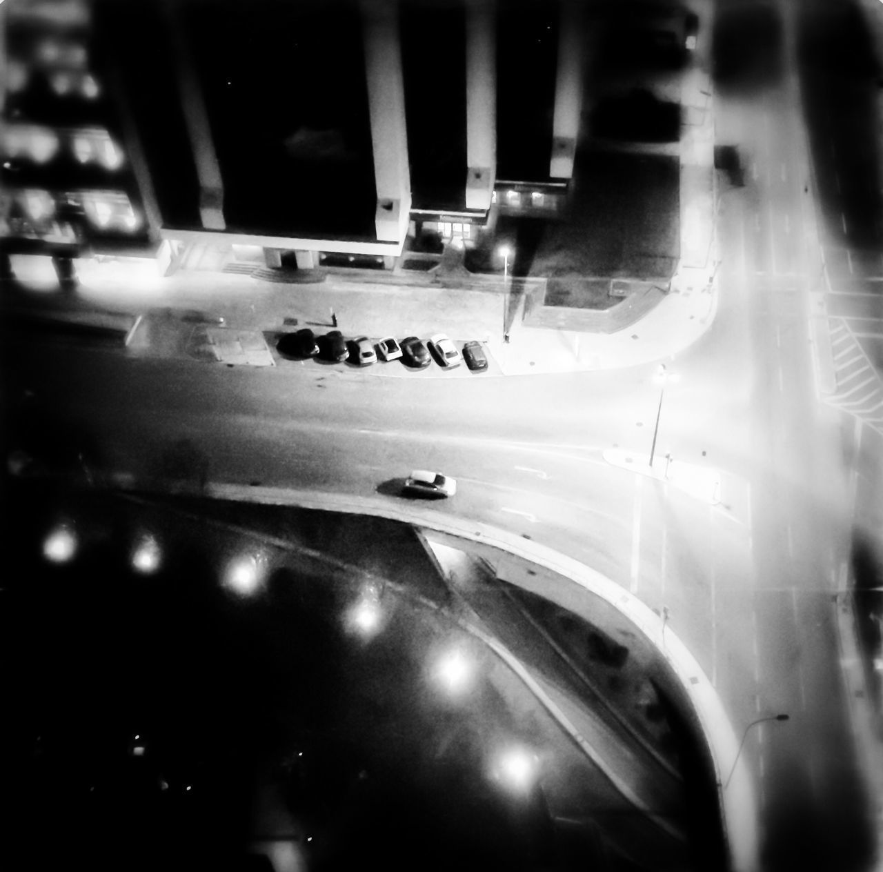 Flying High Street View Monochrome Bird View Topshot Lisbon Crossroads Look Down Streetphotography