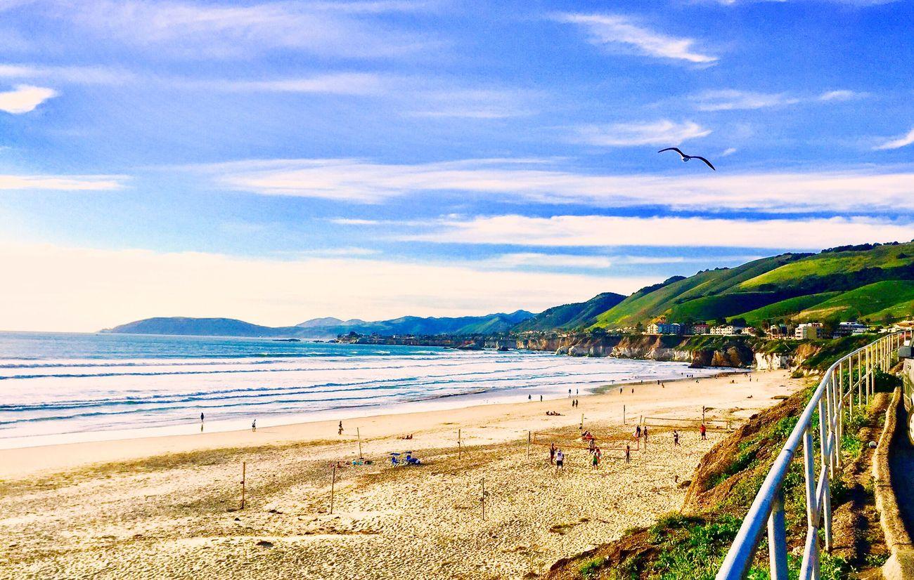 Pismo Beach Beach Sea Scenics Pismo Beach California USA First Eyeem Photo