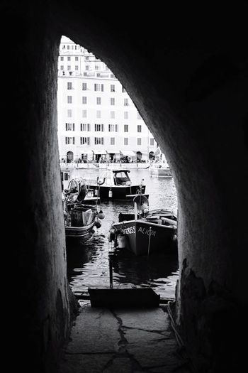 Architecture Built Structure Arch Day Window Water Travel Destinations Building Exterior Indoors  No People Italy