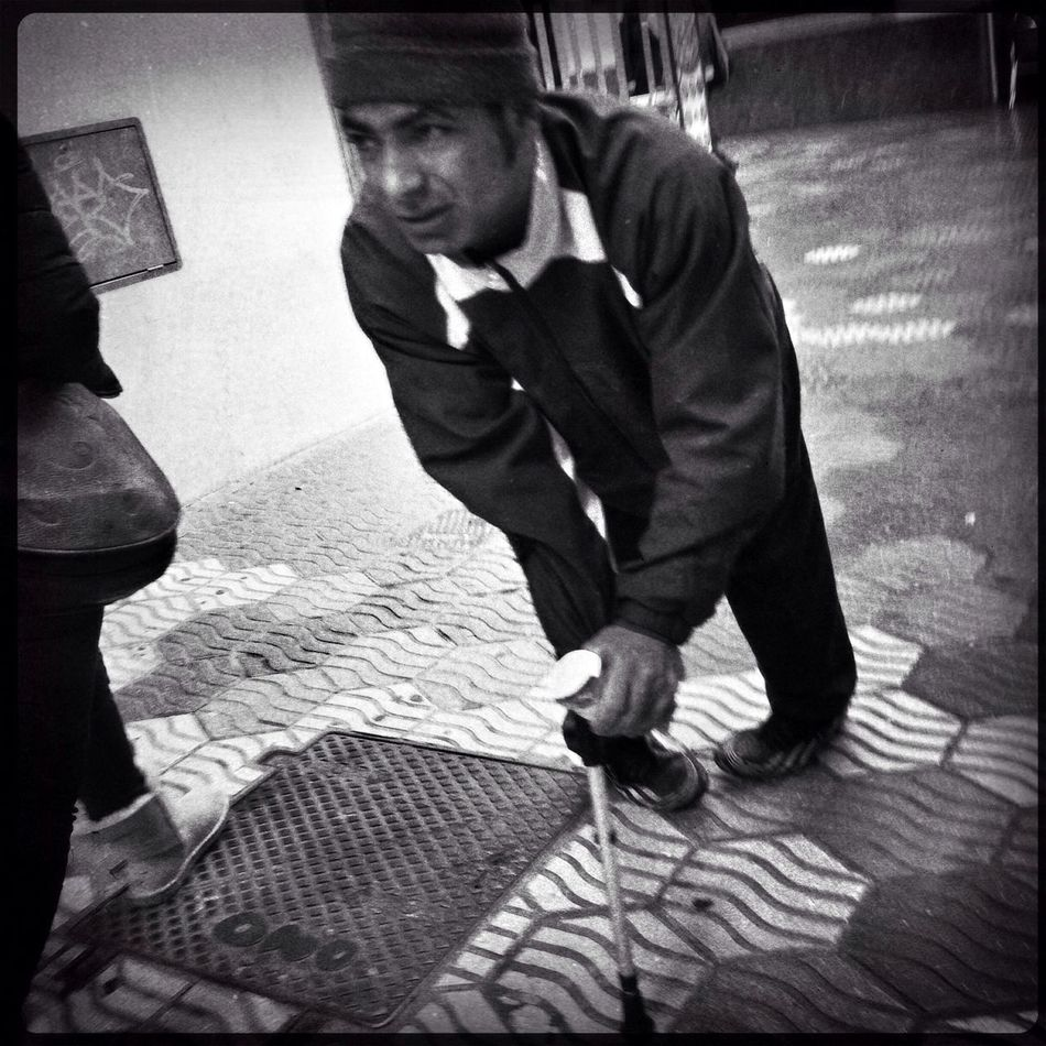Streetphotography Street Portrait Oggl Blackandwhite
