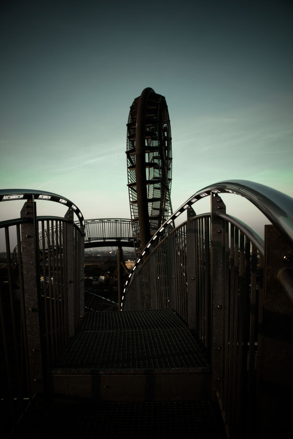 Angerpark Art Brigde Duisburg Germany Magic Mountain Most Extreme Staircases Sculpture Sky Structure Sunset Tiger And Turtle Tigerandturtle Tourist Attraction  Welcome To Black