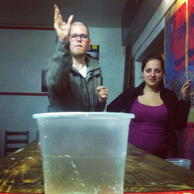 We said Meetsouthafrica day 2 wasn't over! It might be over soon after Beerpong