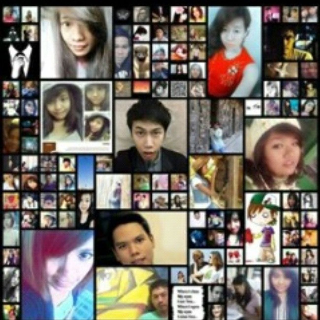 my facebook friendmatrix :-*Love Thosapp Friendmatrix Facebook applicationfriendsfunny