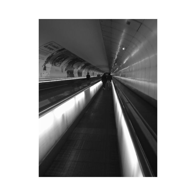 Metro 2 Paris Nuitblanche2015 Friends I'm Thinking You Are  A Probleme