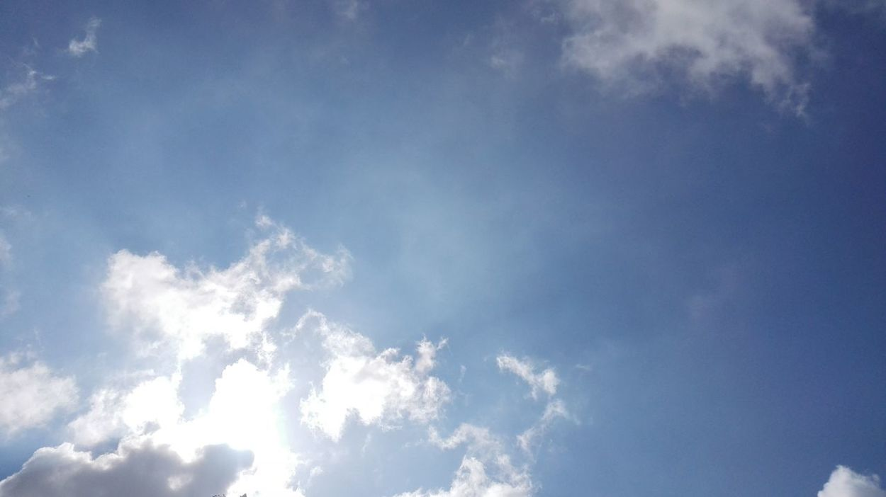 Backgrounds Beauty In Nature Blue Cloud Cloud - Sky Cloudscape Cloudy Day Full Frame Idyllic Low Angle View Majestic Nature No People Outdoors Scenics Sky Sky Only Softness Tranquil Scene Tranquility Weather White