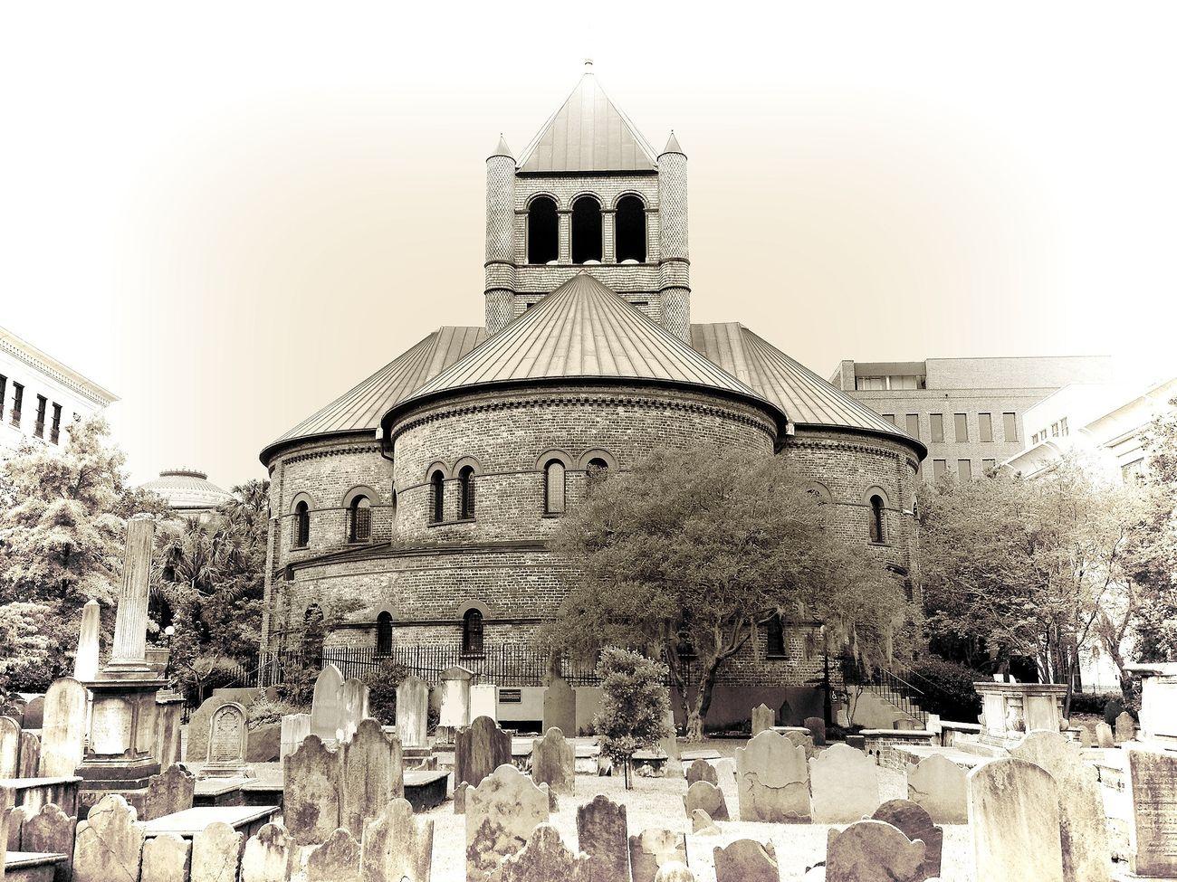 EyeEm Best Shots Charleston series Architecture Tombstonetuesday Graveyard Beauty Black And White Church