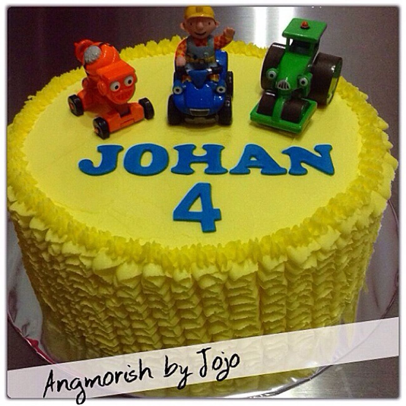 Singapore Birthday Cake Bob The Builder Homemade Cake