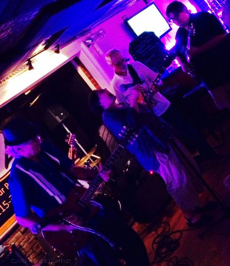 Jen Giacalone Pier Giacalone The Little Red Rooster Blues Band Blues Jam Live Music Everyday Joy