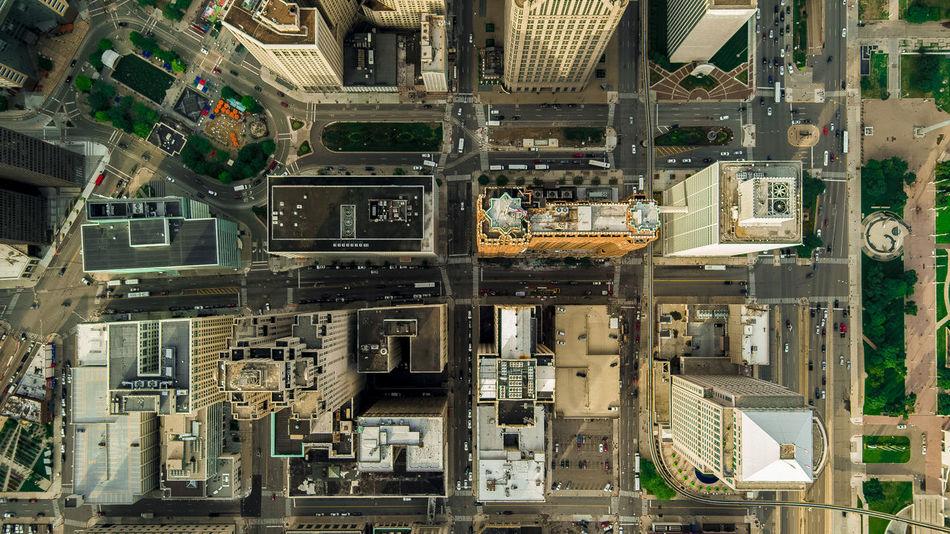 Beautiful stock photos of detroit, Detroit, United States, Urban, aerial View