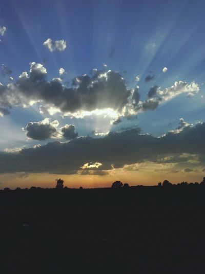 Hello World, Check This Out. Beautiful sky over Ćuprija. First Eyeem Photo