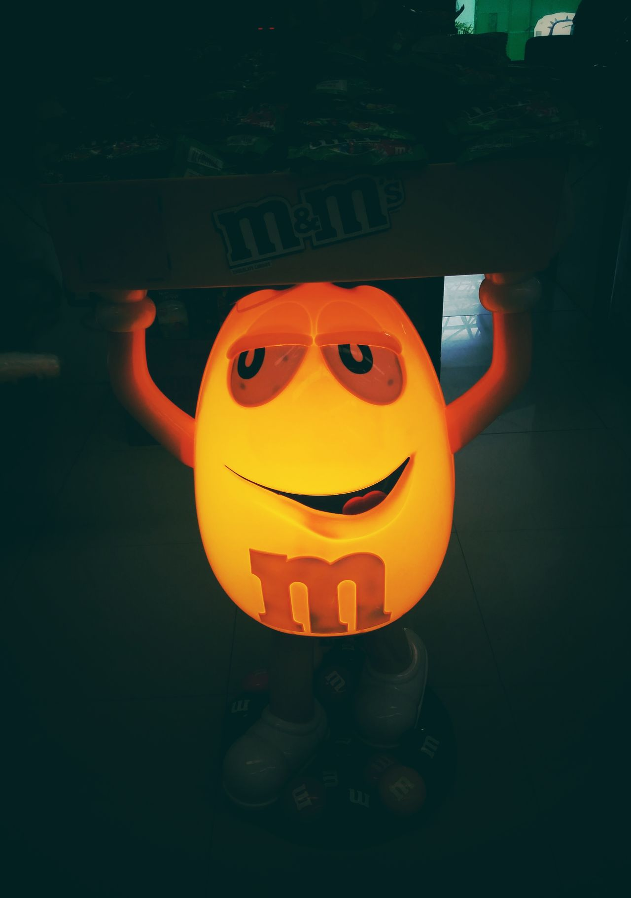#candy #chocolate #light #Light & Shadow #m&ms #streetphotography #stret #yellow