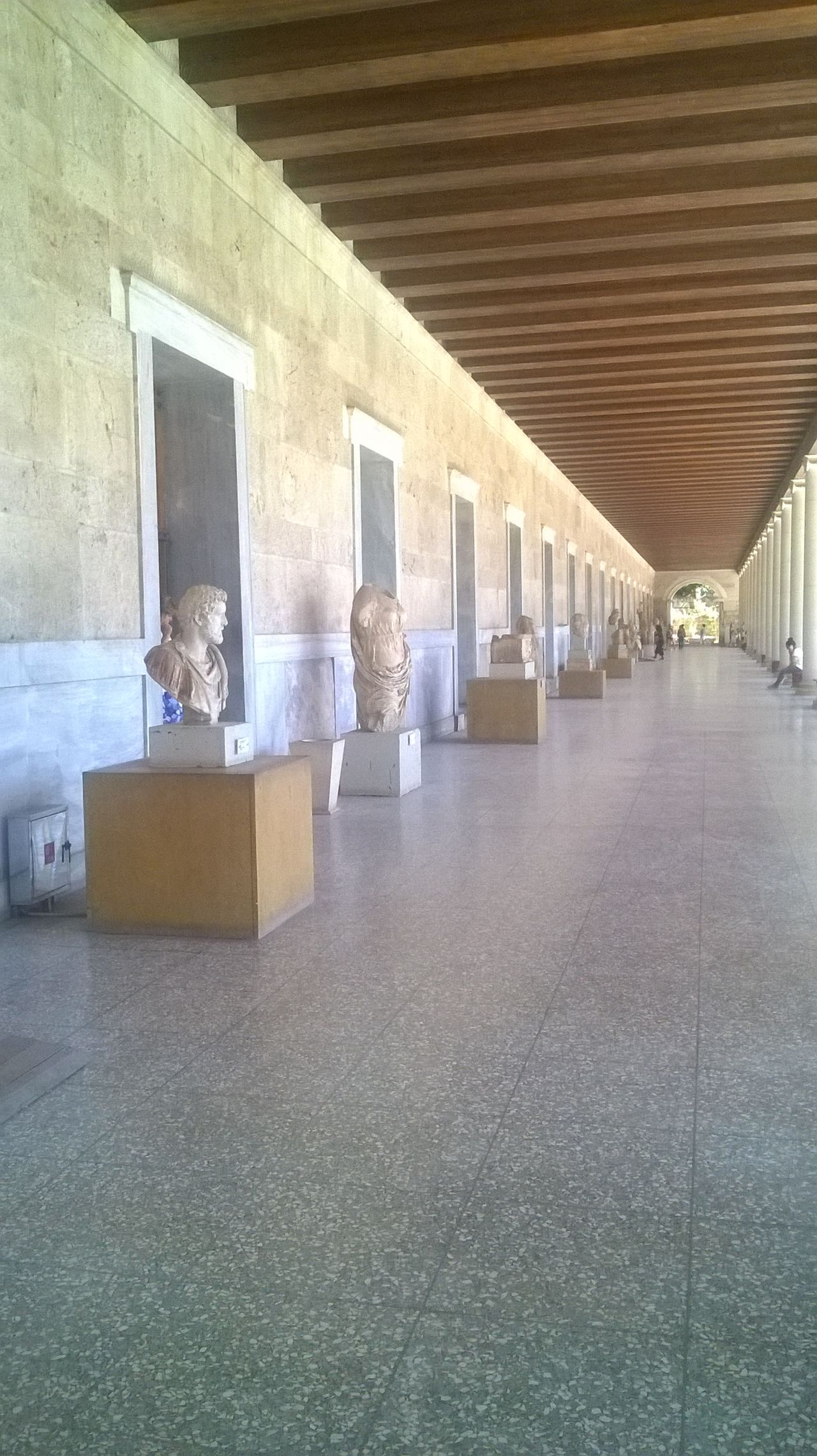 Ancient Civilization Architecture Cardboard Box Day Greeks Hellas Indoors  Museum People Vacation
