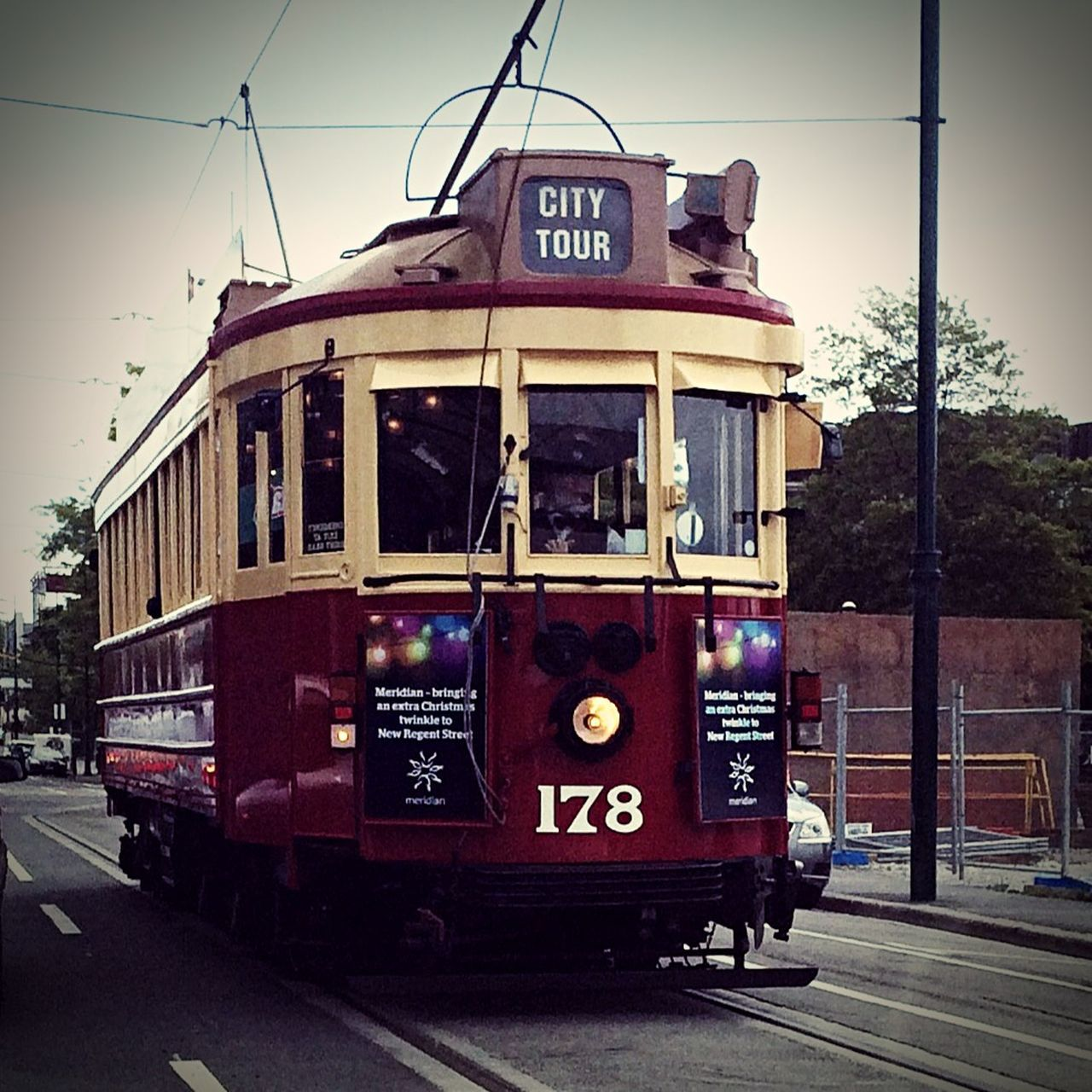Tram Christchurchnz Christchurch Earthquake Tour City Tour New Zealand