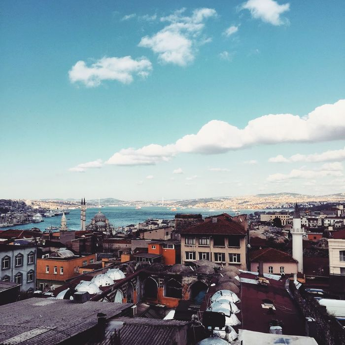 Istanbul South Haliç The Traveler - 2015 EyeEm Awards Pastel Power Showcase March EyeEm Selects Historical Istanbul Golden Horn Golden Horn Golden Horn Istanbul Golden Horn Bay Cloud - Sky History Outdoors Breathing Space Scenics Constantinapolis Mosque Minaret