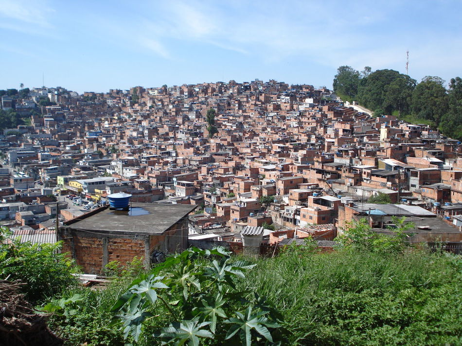 Architecture Building Exterior Built Structure Day Favela Favelabrazil No People Outdoors Sky Tree