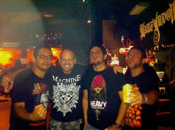 Show do Mystifier, The Cross e Kerberus Thrashmetal Deathmetal Blackmetal Amigos