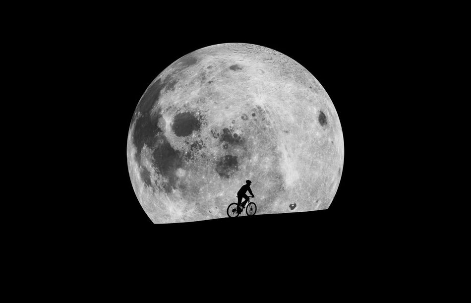 Beautiful stock photos of full moon, Astronomy, Beauty In Nature, Bicycle, Circle