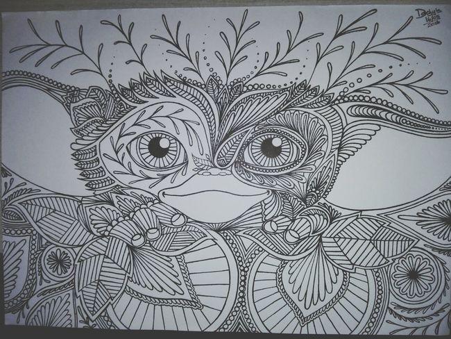 Daniela Calvo - Artista Dibujo A Lapiz Artistic Photo Dibujotime Artist Gremlins Gremlin Dibujo Dibujando Dibujoartistico
