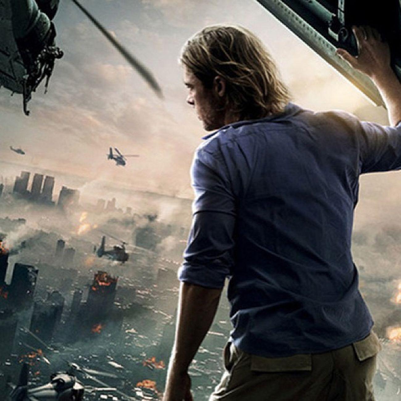 For a zombie movie, world war z is surprisingly good! Worldwarz Bradpitt Zombieapocalypse