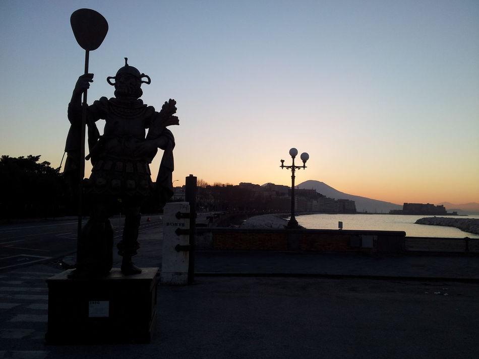 Napoli Naples Italia Italy Arte Art Sea Sun ☀ Sunset Sunrise Storm World Travel Architecture Skyline Nature Wonderful City Love ♥ Beauty Fittness Adventure Rein Reinbow Moon
