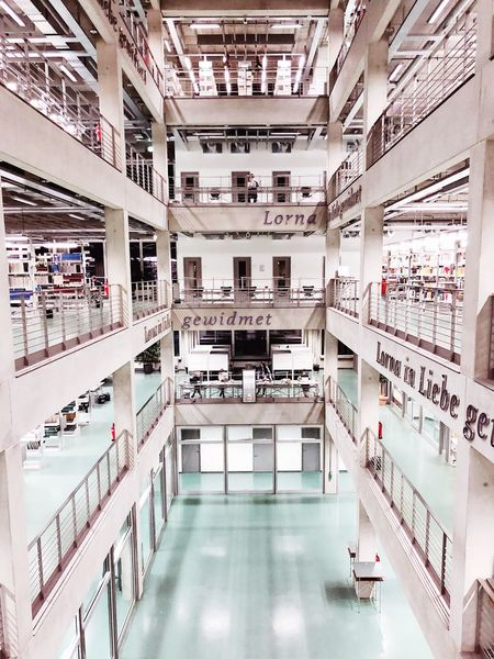 Indoors  Architecture University Shelf Built Structure Bookshelf No People Day Library Building Library Berlin TU Berlin