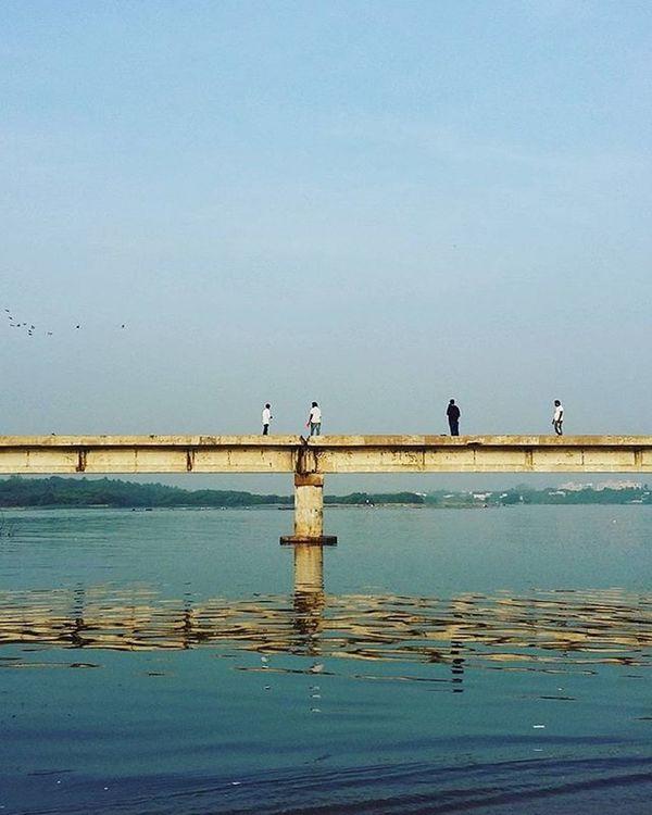 Insta India - Take it to the Broken Bridge Whpfirstlight Brokenbridge Bridge Instaindia Sochennai Adyar