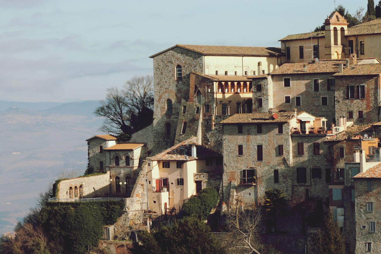 Umbria Italy Todi  Wiew