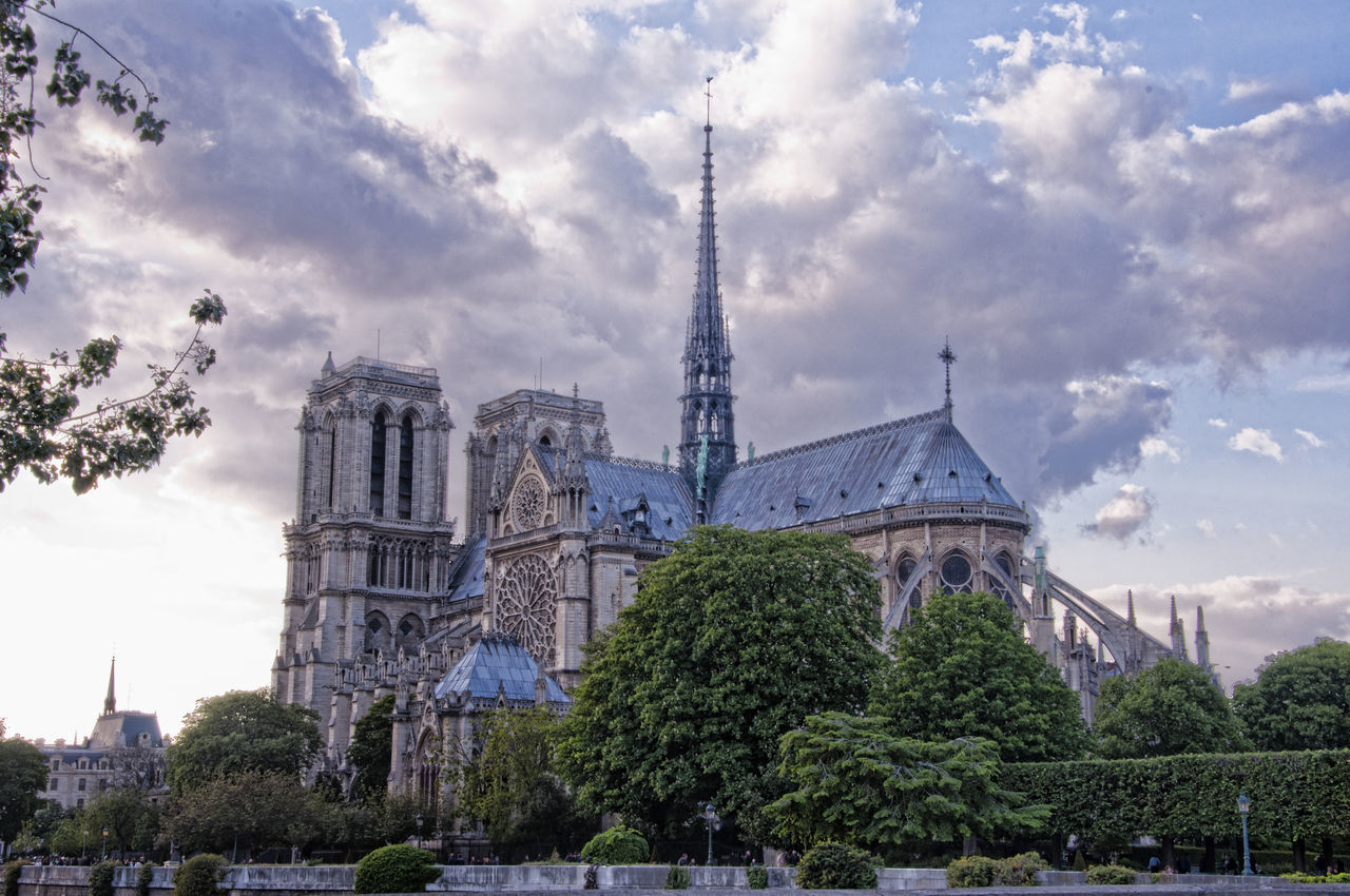Beautiful stock photos of notre dame,  Building Exterior,  Built Structure,  Cathedral,  City