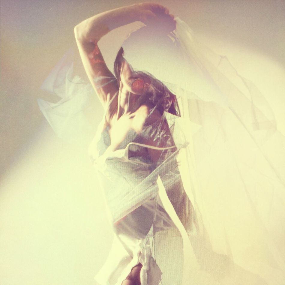 ReFlected Double Exposure Mystic Dance Pose