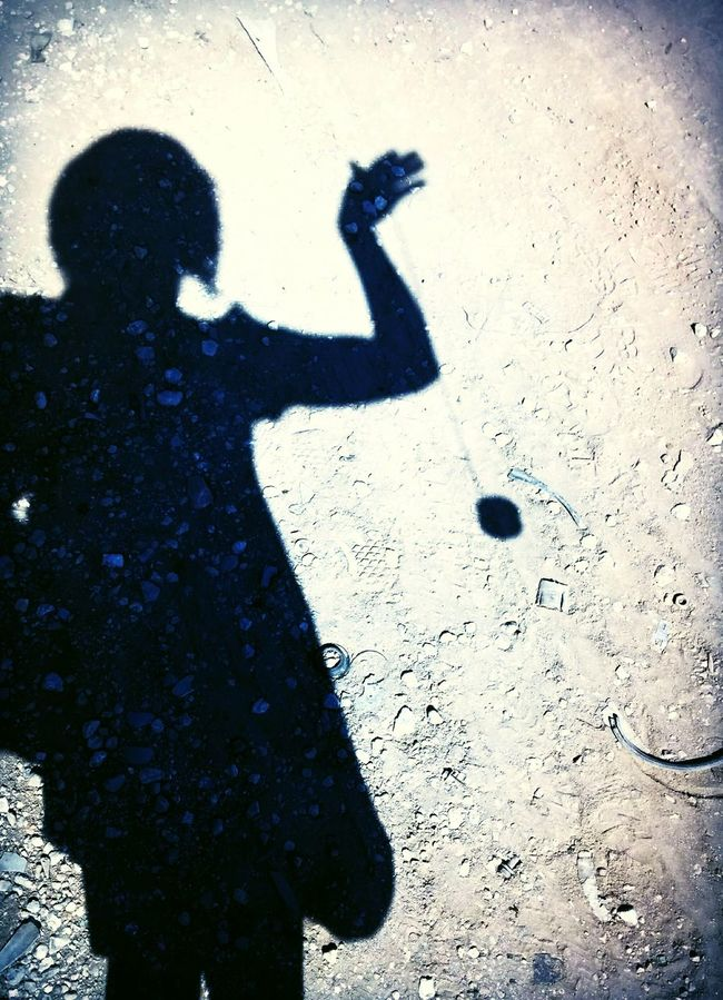 Lost in YoYo Silhouette My Shadow And Me Playing With The Shadows Playing With The Light