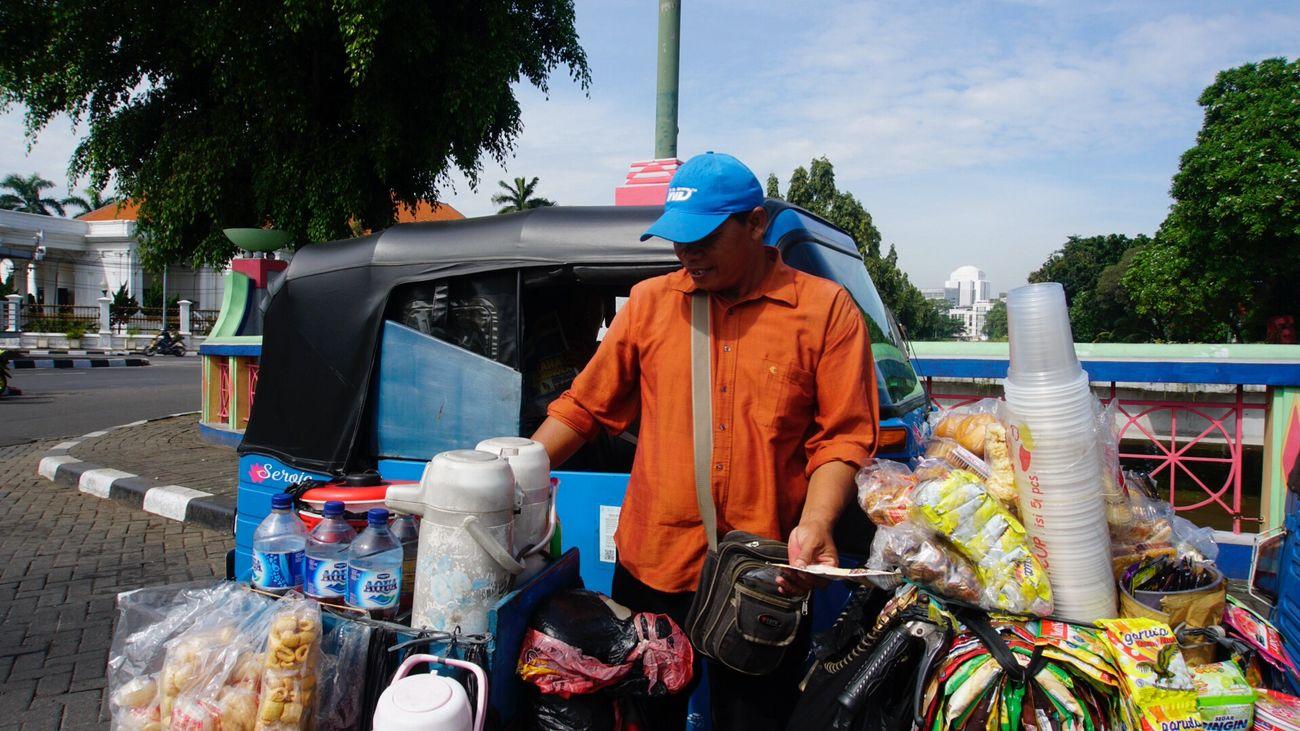 pedagang keliling 101547 Pedagang Sales Salesman Jakarta Bajaj