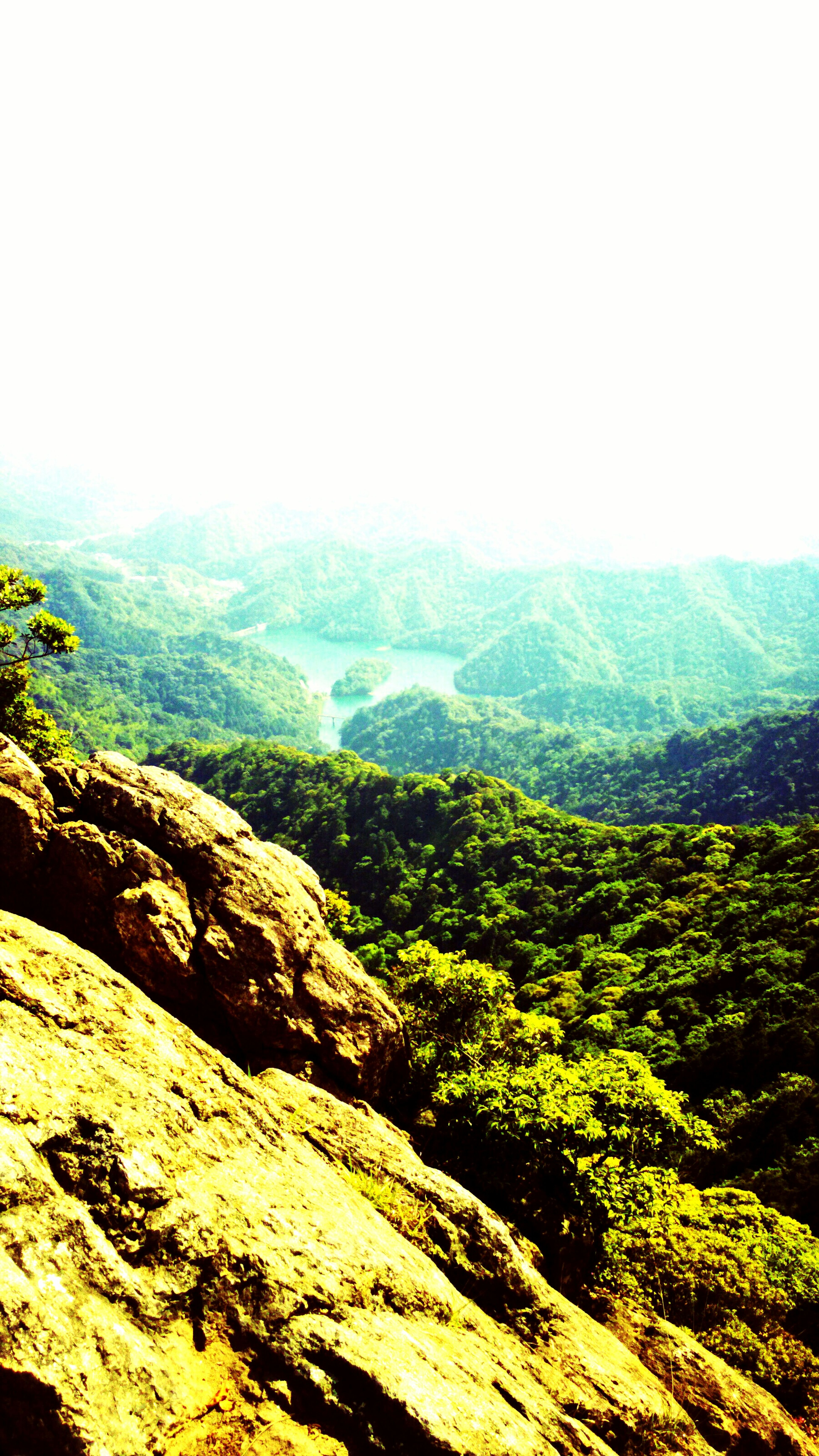 海に浮かぶしまのように見えてる黒髪山からの風景 First Eyeem Photo