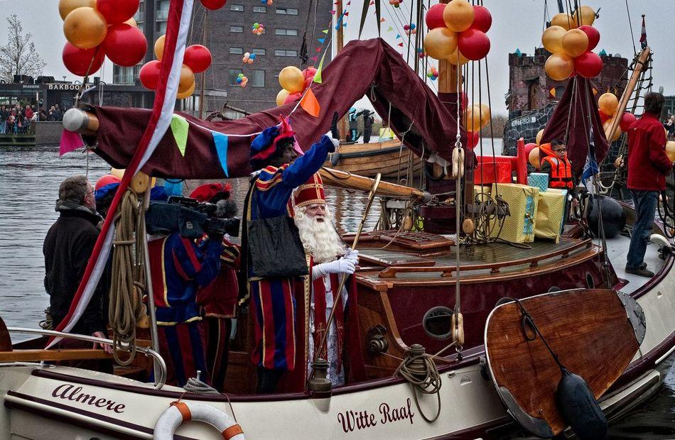 Saint Nicholas Sinterklaas 2013 Saint Nicholas Day Sinterklaas Intocht In Almere-Havenvv