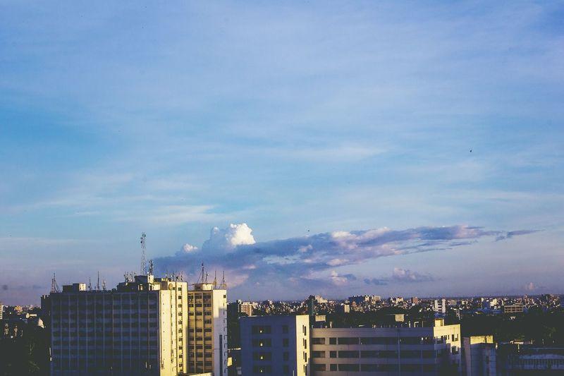 Pivotal Ideas Submarine Clouds And Sky City Dhakagraam Bangladesh