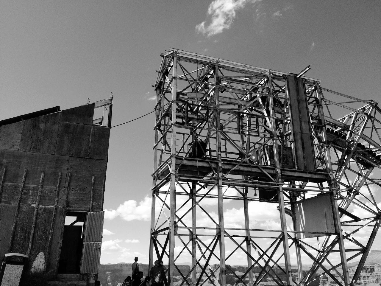 Abandoned mine Grand Canyon