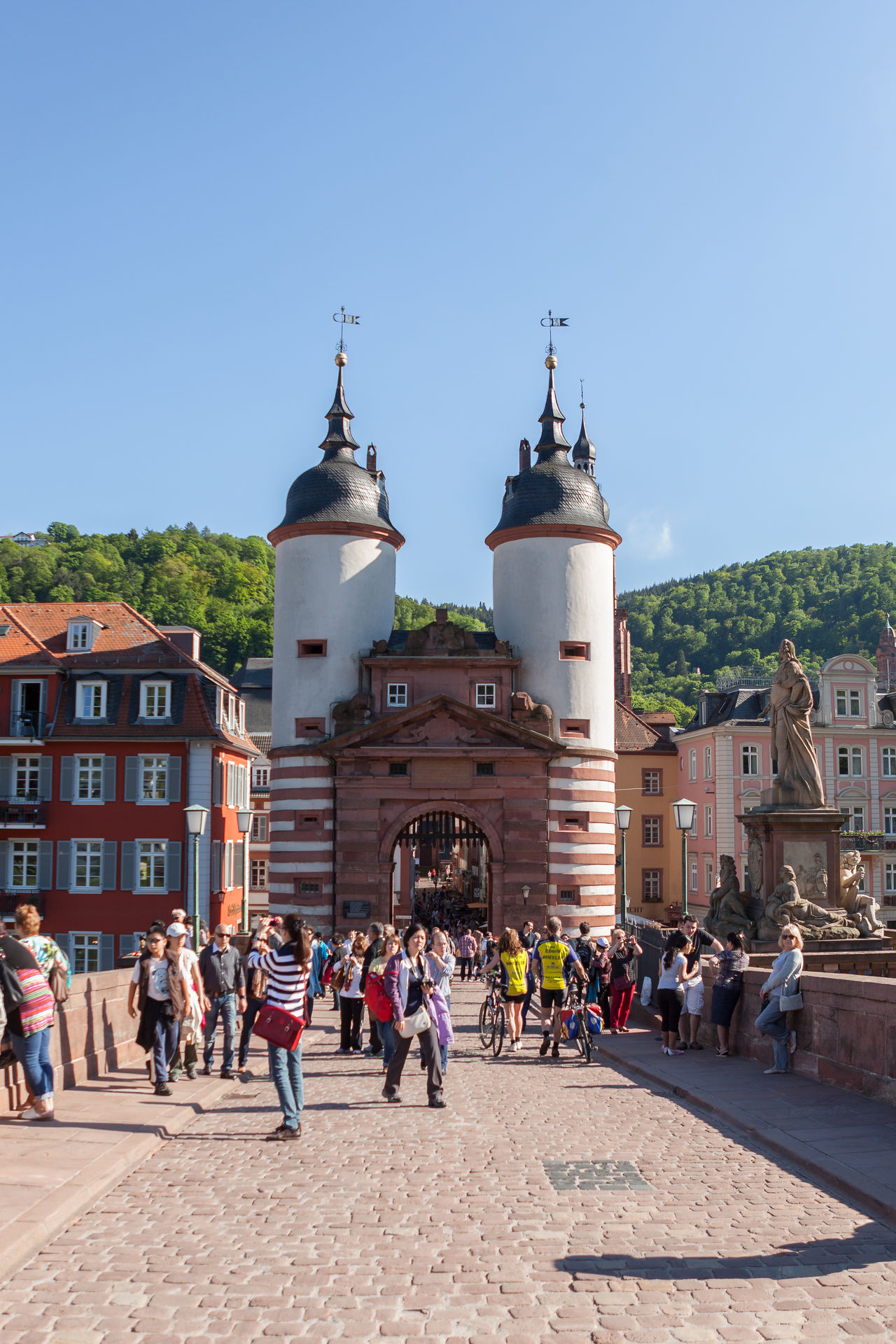 Alte Aula Alte Brücke Cable Car Castle City Day Elevated View Exterior View Germany Heidelberg Hills Historical Building Historical Sights Interior Views Mixed Age Range Old Bridge Outdoors Schloss Tourist Travel Destinations Travel Photography University University Campus Vinery
