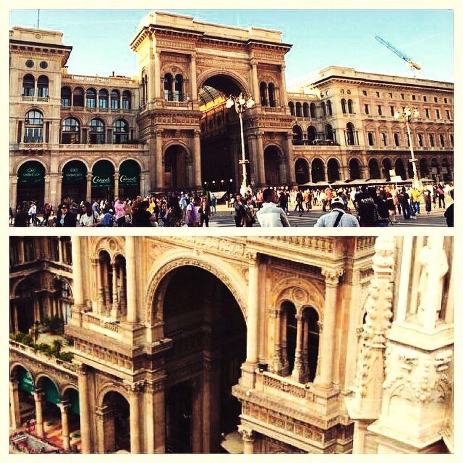 Holiday sun Summer Palazzo Milano Italien
