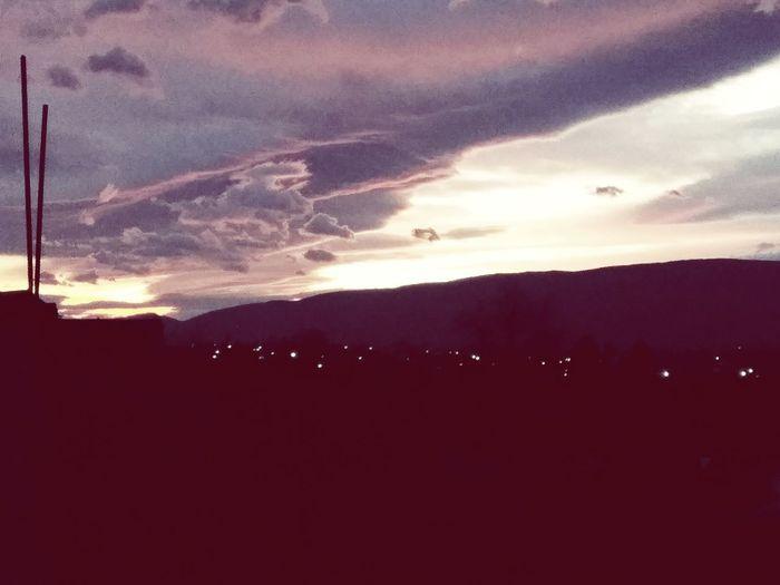 Huzur Gökyüzünde💫 Sunset Sky Beauty In Nature Cloud - Sky Silhouette Dramatic Sky first eyeem photo