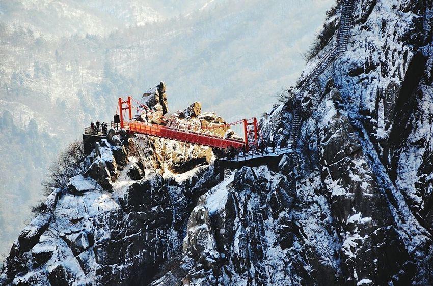 Wolchulsan National Park In Korea Winterwonderland On The Mountain Last Winter Snow Photography Snow❄sky Wintertraining Snowwhite In Korea