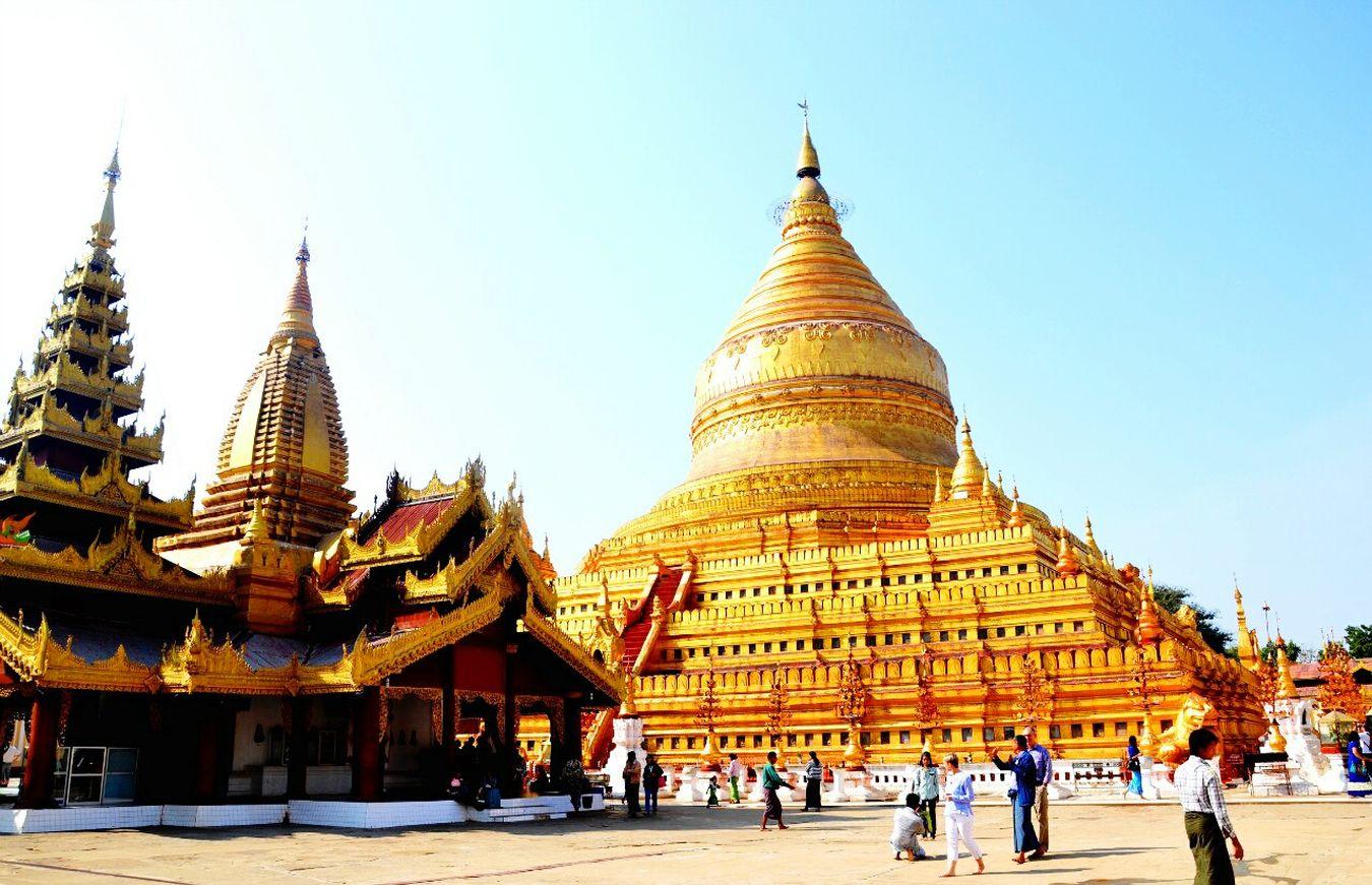 Traveling Maynmar Bagan Shwezigon